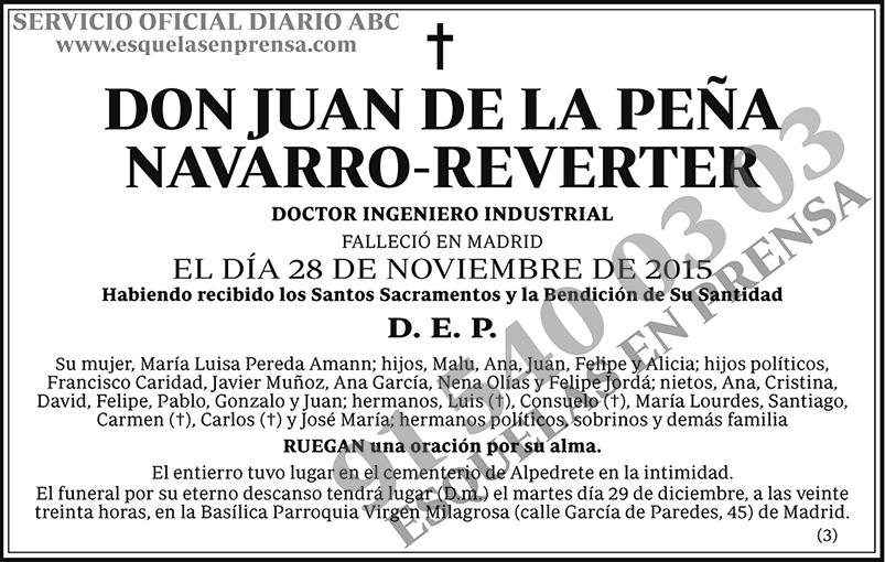 Juan de la Peña Navarro-Reverter